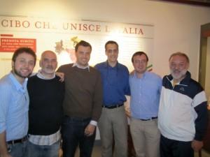 Stuart Milk e Francesco Farinetti - ad Eataly