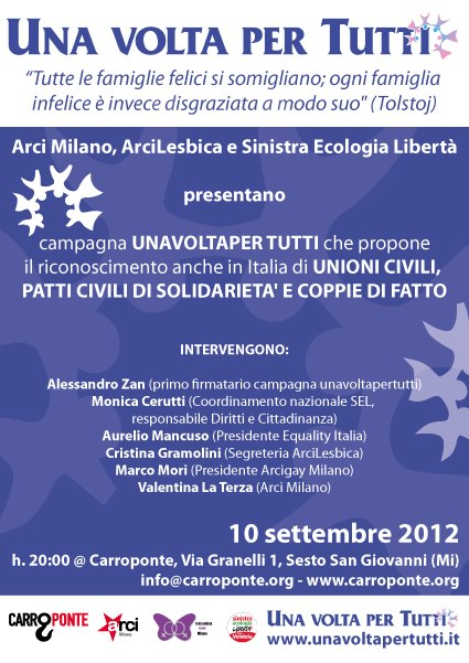 evento festa arci - 10-09-12