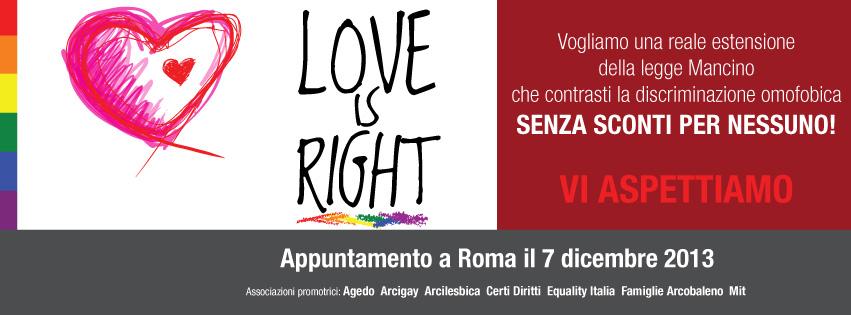 loveisright