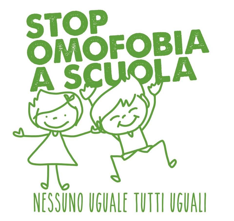stop omofobia a scuala