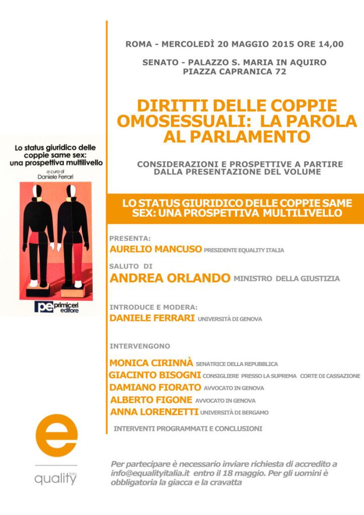 legge unioni omosessuali Messina