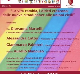 Rainbow week V municipio - equality