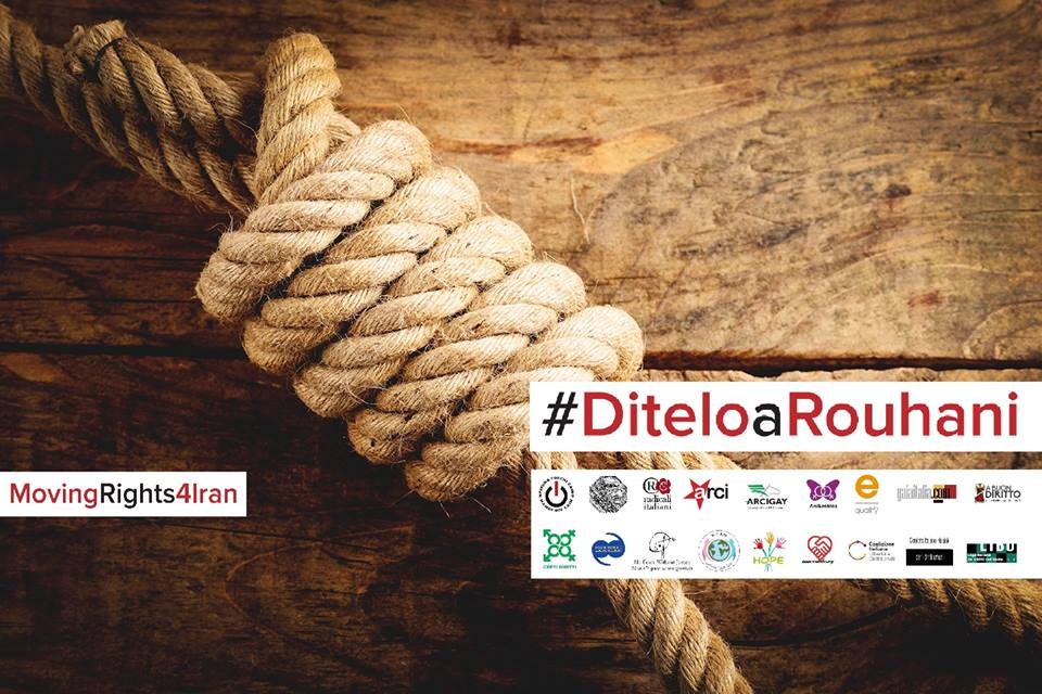 #DiteloaRouhani - appello Iran