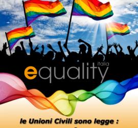 L'Italia s'è desta, le unioni civili sono legge