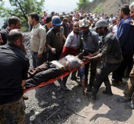 esplosione miniera Iran