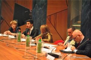 Tavolo dei Relatori con Aurelio Mancuso - Pres. Equality Italia