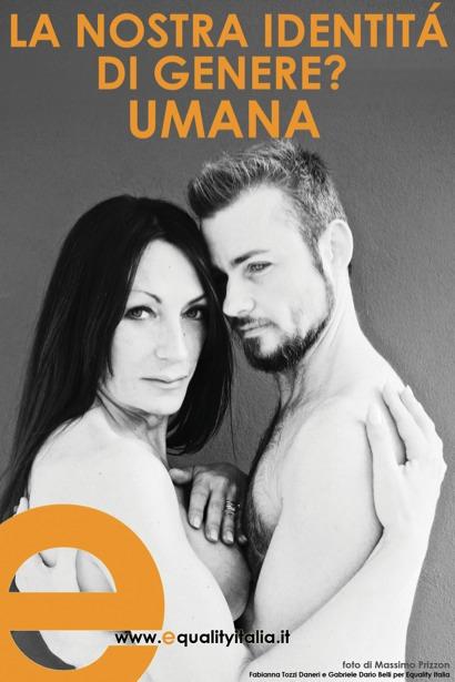 Fabianna Tozzi e Gabriele Belli per Equality Italia