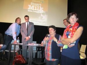 Ilda Curti e Marta Levi, onorificenza a Stuart Milk