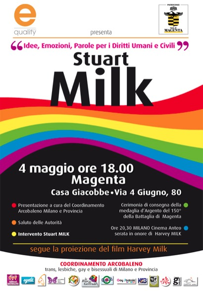Stuart Milk a Magenta (MI)