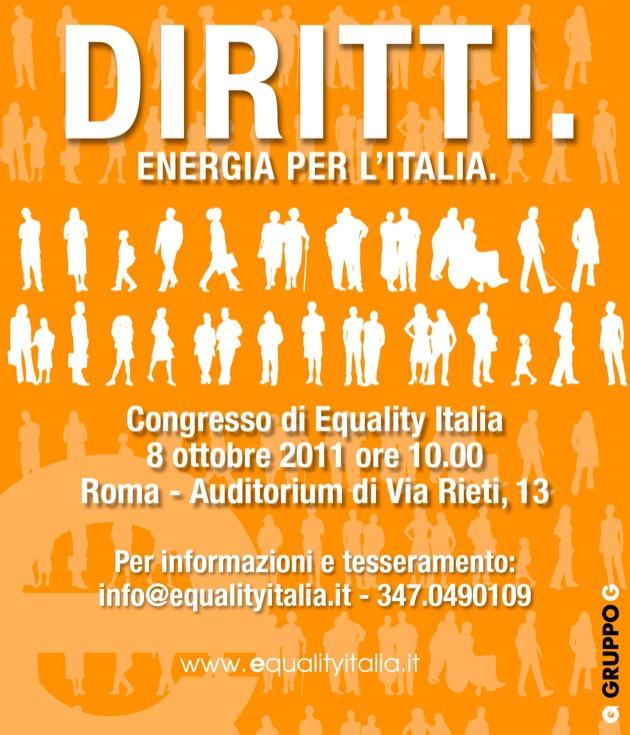 Congresso Fondativo di Equality Italia