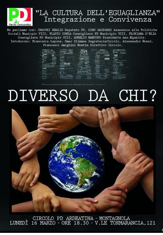 PD ARDEATINA ROMA - La cultura della ugualianza - 16-03-15
