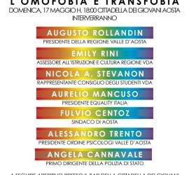 giornata contro omofobia e transfobia -